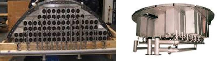 سیکلونهای حذف کننده ذرات جامد و مایع